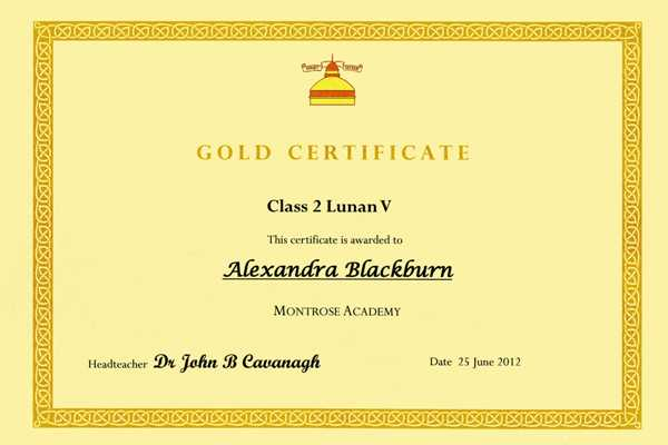 Gold Certificate Class 2 Lunan V001