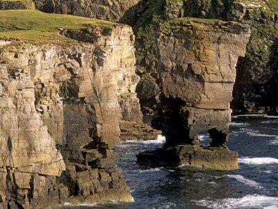 Yesnaby Castle Sea Stack, Orkney Islands, by Patrick Dieudonne