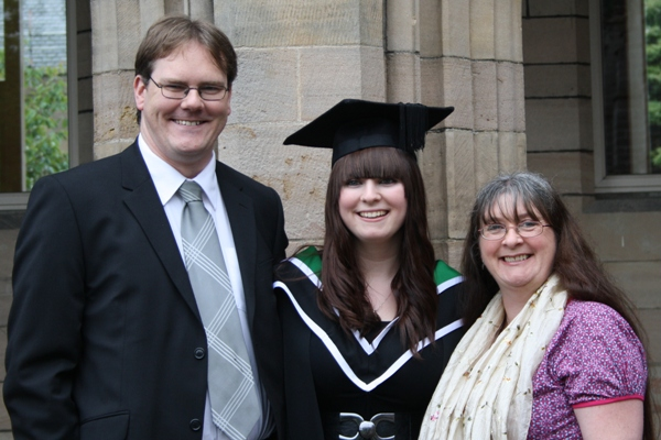 Awesome Daughter Number Two, Tech Guy and Me!